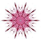 Red Pattern Kaleidoscope by fantasytripp