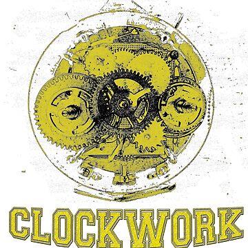 Clockwork 2 - Yellow by SalvorHardin