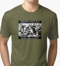 Thanksgiving Tri-blend T-Shirt