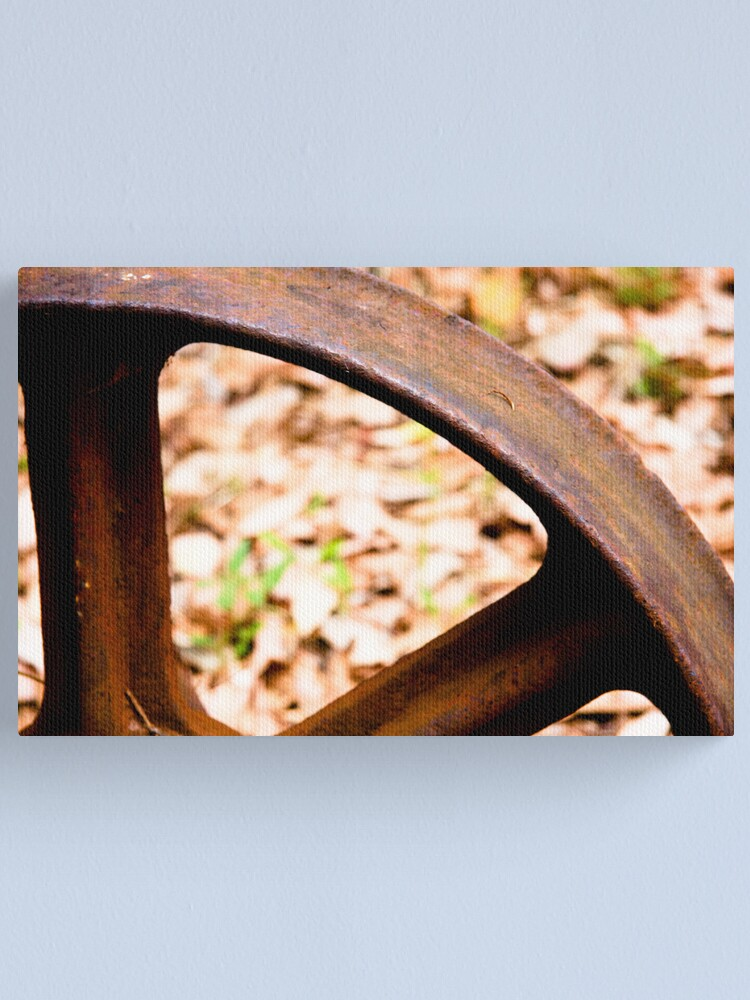 Alternate view of Old wheel Canvas Print