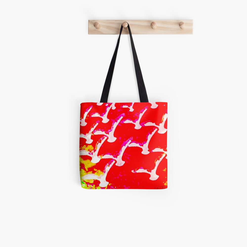 WHITE BIRDS Tote Bag