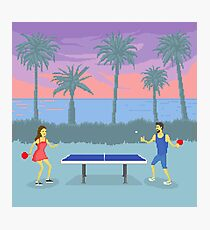 The Secret of Ping Pong Island Photographic Print