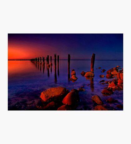 """Nightfall At The Dell"" Photographic Print"