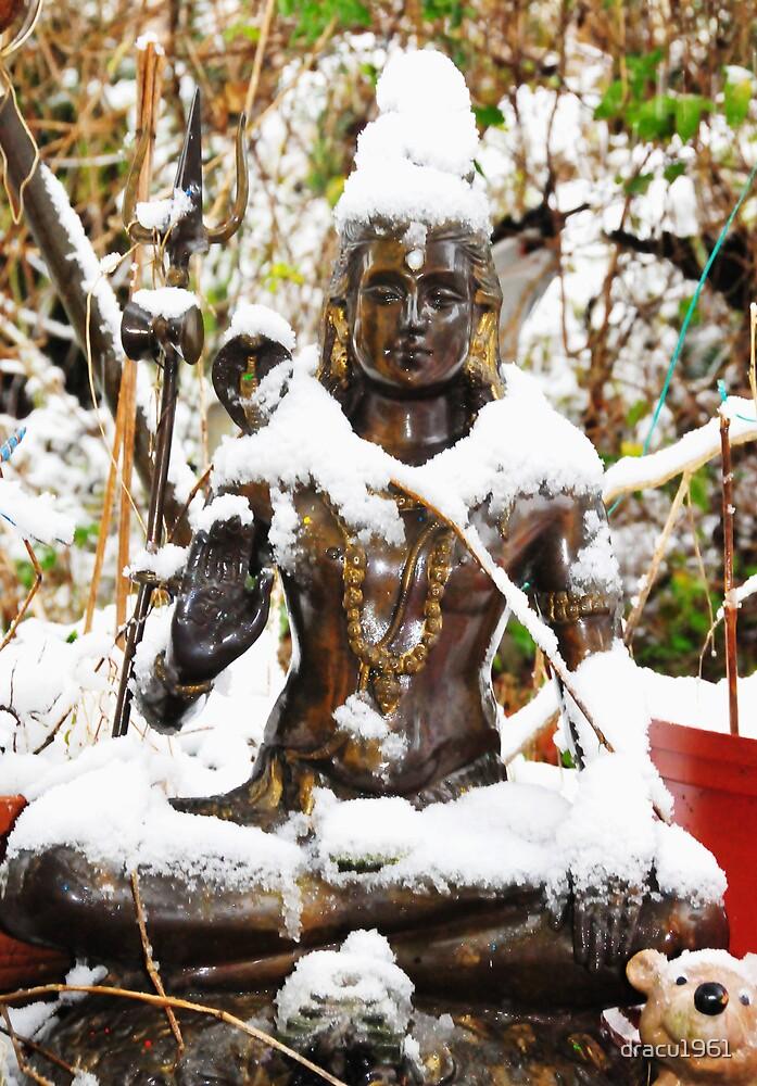 Snow Budhha by dracu1961