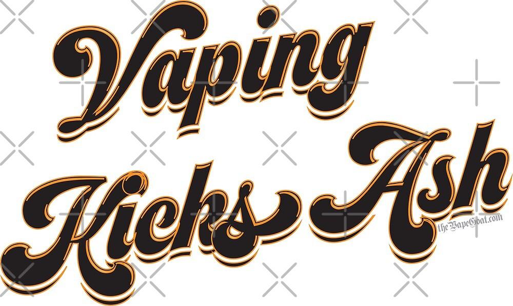 Ω VAPE | Vaping Kicks Ash  by IconicTee