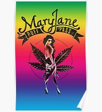 Mary Jane Puff Pass Poster