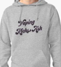 Ω VAPE  | Vaping Kicks Ash  Pullover Hoodie