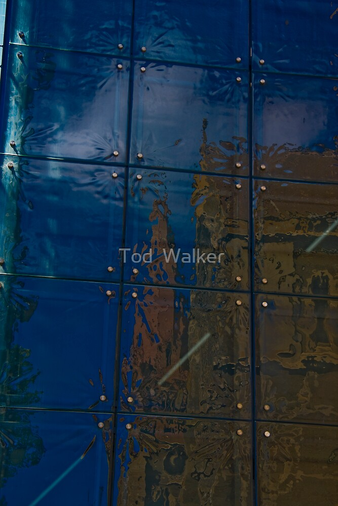 reflections in glass by Tod  Walker