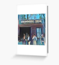 Time Travellers I Greeting Card