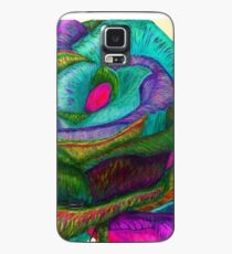 Pink Pedals (Rainbow Rose) Case/Skin for Samsung Galaxy