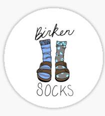 Birken-socks Sticker