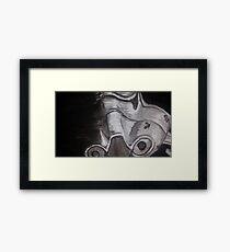 stormtrooper Framed Print