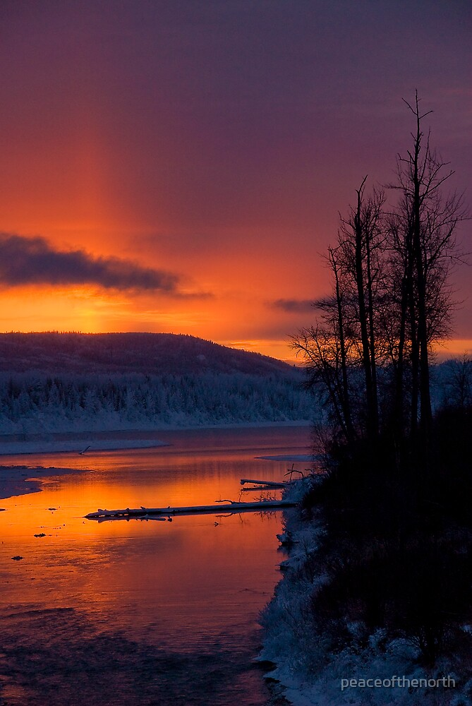 Sunset on Christmas Day by peaceofthenorth