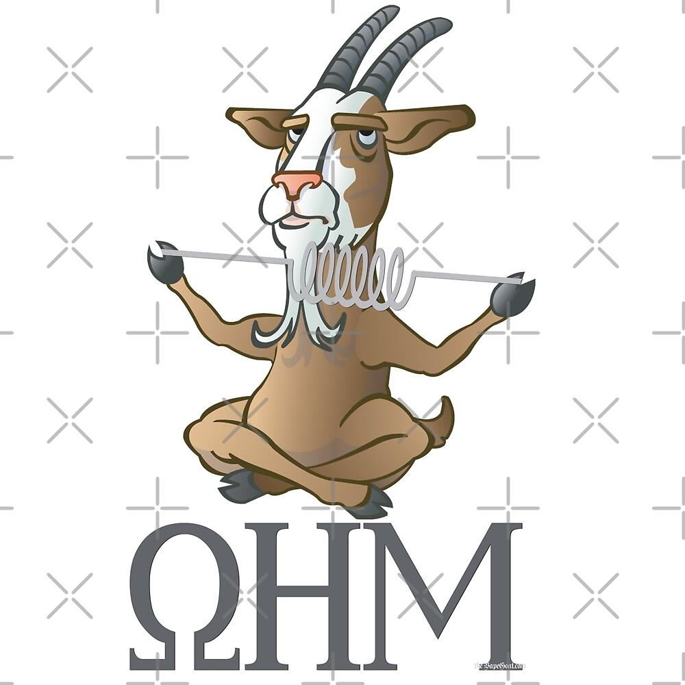 Ω VAPE Shirt   OHM Goat by IconicTee