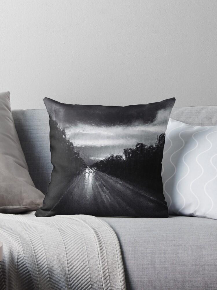 MURKY [Throw pillows] by Matti Ollikainen