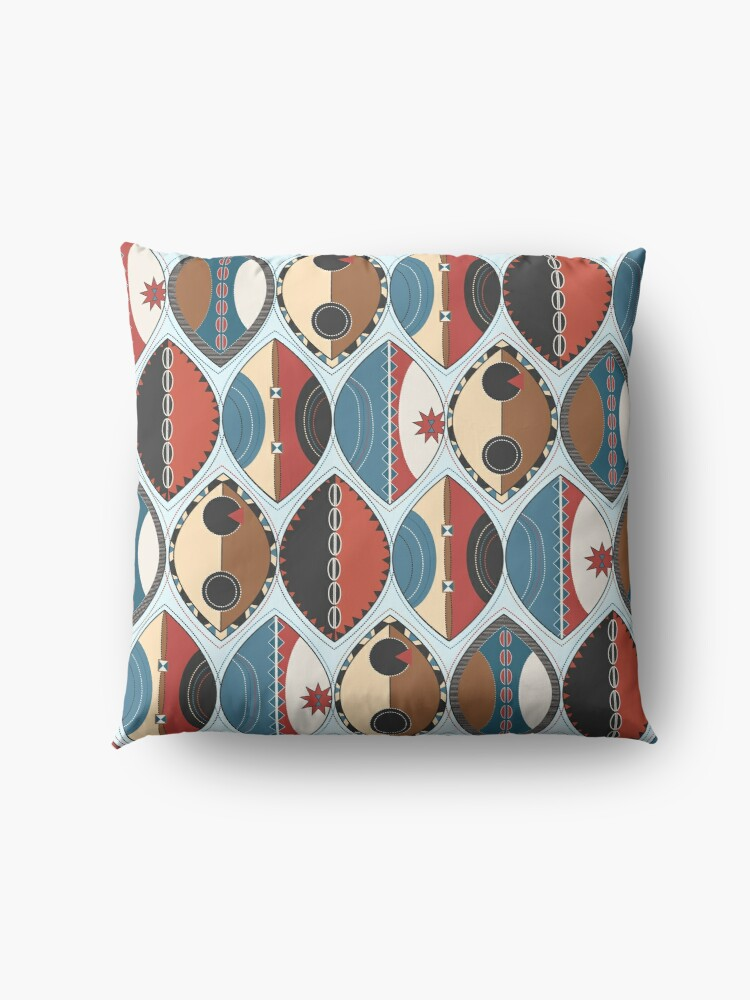Alternate view of Maasai Shields Floor Pillow