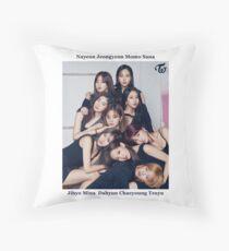 TWICE - Cosmopolitan #1 Throw Pillow