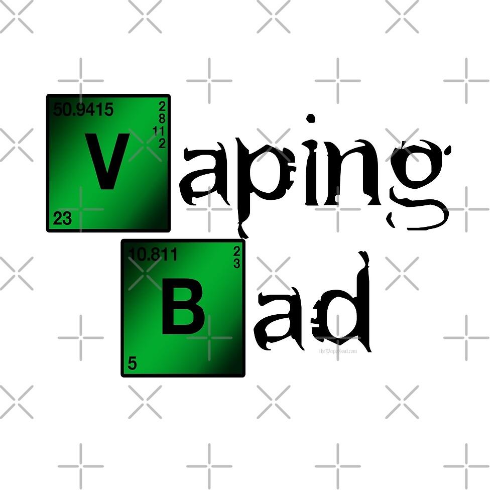 Ω VAPE | Vaping Bad by IconicTee