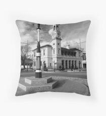 Beechworth Streetscape Throw Pillow