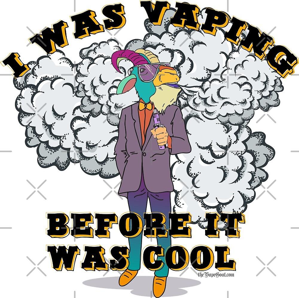 Ω VAPE Shirt   Vaping before it was Cool  by IconicTee