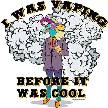 Ω VAPE Shirt | Vaping before it was Cool  by IconicTee