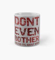 DONT BOTHER TOUGH - GREY Mug