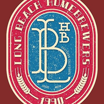 Vintage Label by LBHomebrewers