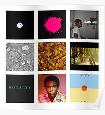 Childish Gambino Discography Poster