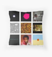 Childish Gambino Discography Throw Pillow