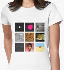 Childish Gambino Discography Women's Fitted T-Shirt