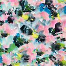 Abstract Watercolor Floral by melaniebiehle