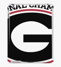 Georgia National Champions iPad Case/Skin
