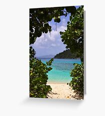 Enter the Caribbean Greeting Card