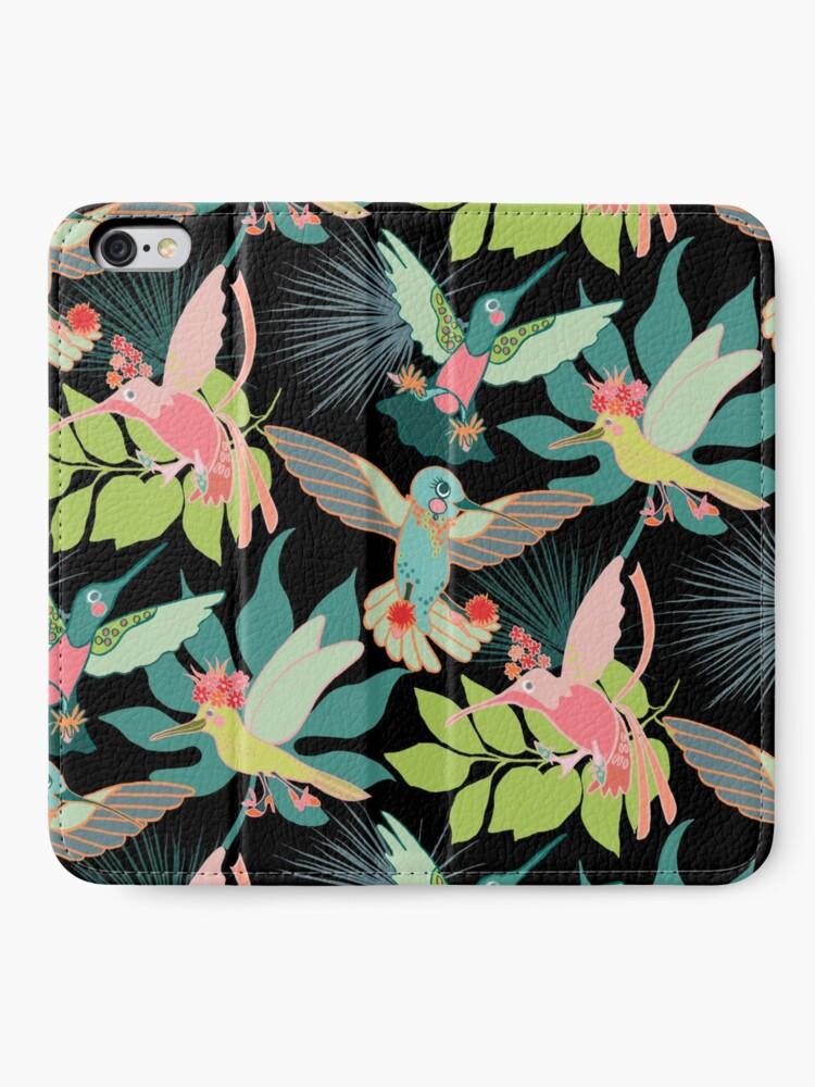 Alternate view of Hummingbird Paradise iPhone Wallet