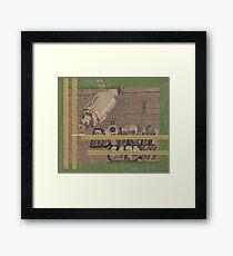 Rough Craft Giraffe Framed Print