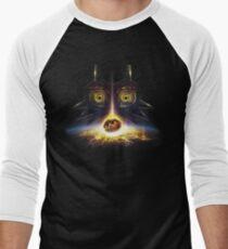 Legend of Zelda Majora's Mask Operation Moon Fall Men's Baseball ¾ T-Shirt