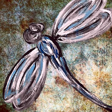 Rustic Dragonfly Art by Artbytinavaughn