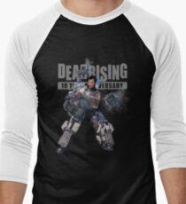 dead rising - to see what's happening on street Men's Baseball ¾ T-Shirt