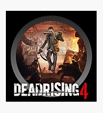 dead rising - to see what's happening on street Photographic Print
