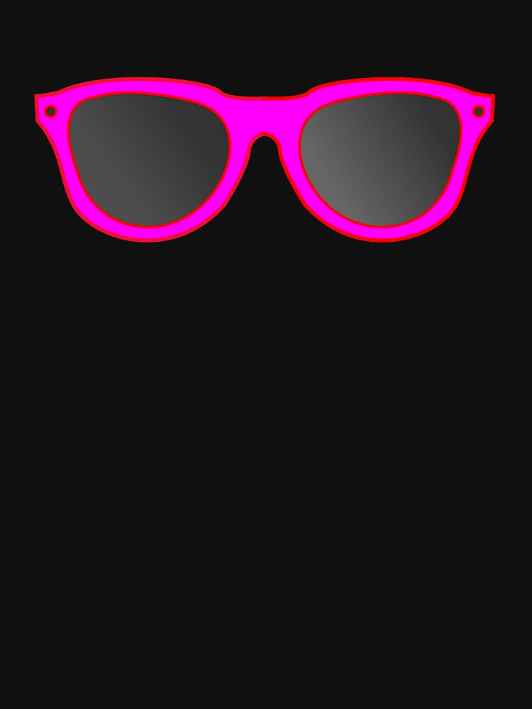 Hot Pink Sunglassess by beerhamster