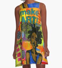 Make ART A-Line Dress