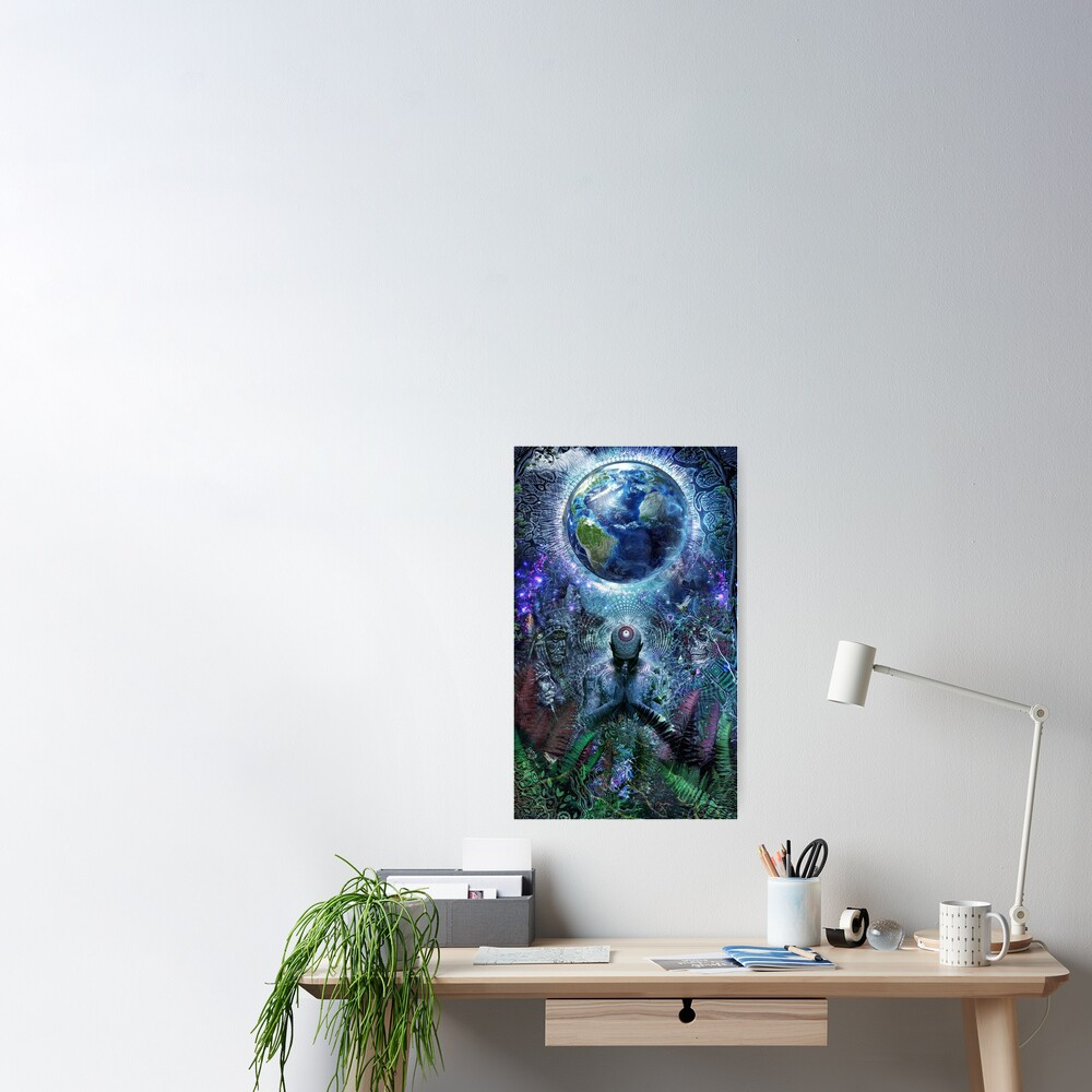 Gratitude For The Earth And Sky Poster
