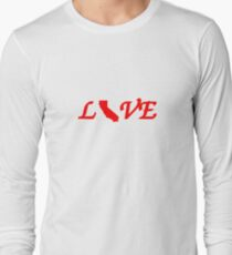 Love and Live in California! Long Sleeve T-Shirt