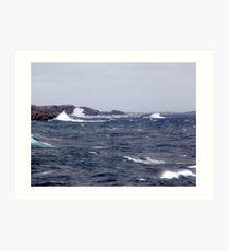 October Storm (1) Art Print