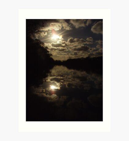 Waterloo-Reflection Art Print