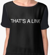 That's a link  Chiffon Top