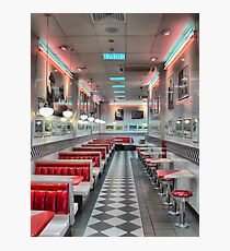 Hungry Jacks in New Zealand's Neon   Photographic Print