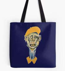 Portrait of a Distressed Artist Tote Bag