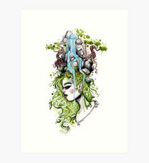 Habitat Head Art Print