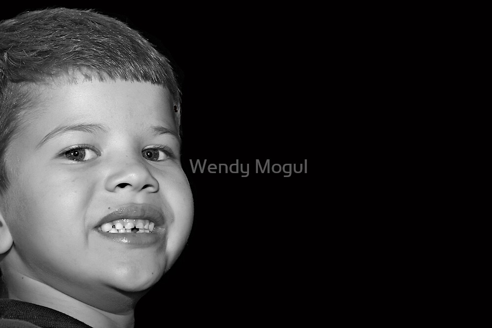 A Childs Smile by Wendy Mogul